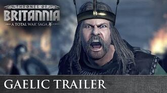 Total War THRONES OF BRITANNIA - Gaelic Cinematic Trailer