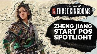 Zheng Jiang Start Position Spotlight - Total War THREE KINGDOMS