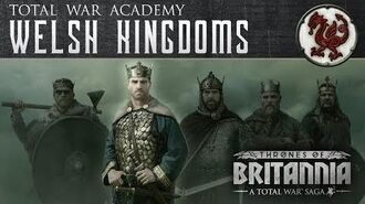 A Total War Saga Thrones of Britannia - The Welsh Kingdoms