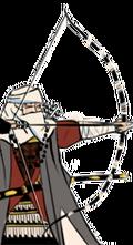 Ashigaru inf bow warrior monks