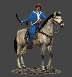 Mounted Nizam-I Cedit