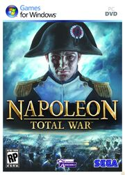 Napoleon Total War CD cover