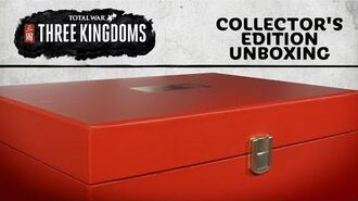 Total War THREE KINGDOMS - Collector's Edition Unboxing