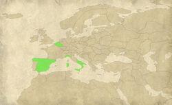 Etw spa europe map