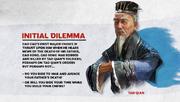 TW3K Cao Cao Inital dilemma