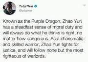TW3K Zhao Yun translation