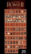 Rome II ancillary icons