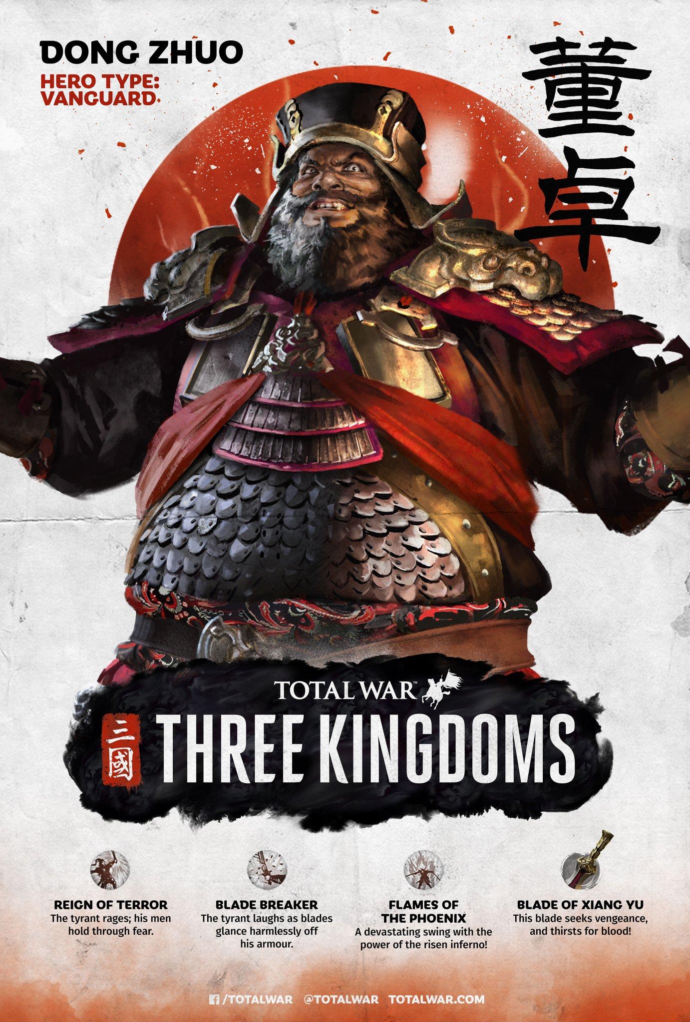 Dong Zhuo   Total War Wiki   FANDOM powered by Wikia