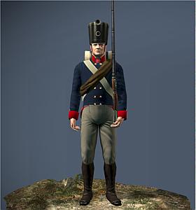Prussia Musketeers NTW