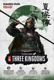 TW3K Xiahou Dun