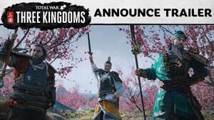 Total War THREE KINGDOMS - Announcement Cinematic