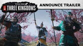 Total War THREE KINGDOMS - Announcement Cinematic PEGI SPA