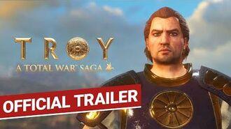 Total War TROY Official Trailer A Total War Saga