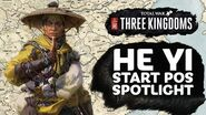 He Yi Start Position Spotlight - Total War THREE KINGDOMS