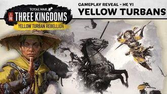 Total War THREE KINGDOMS - Yellow Turban Rebellion Gameplay Reveal