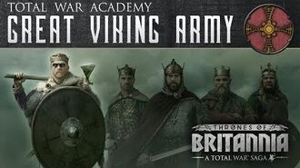 A Total War Saga Thrones of Britannia - The Great Viking Army