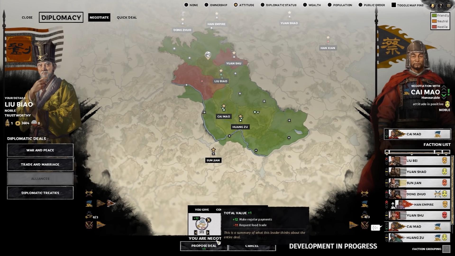 Diplomacy (Total War: Three Kingdoms) | Total War Wiki