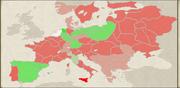 Batavian Republic Diplomacy Map NTW
