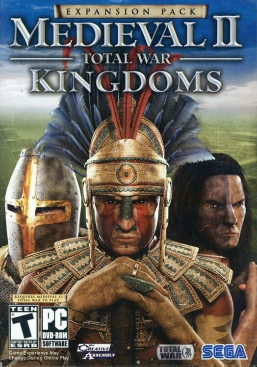 Medieval II - Total War - Kingdoms Coverart
