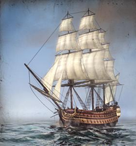 Indiaman (Trade Ship) NTW