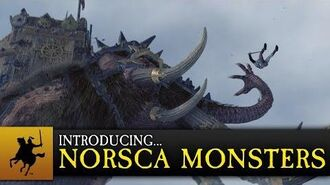 Total War WARHAMMER - Introducing... Norsca Monsters