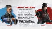 TW3K Liu Bei-Inital dilemma