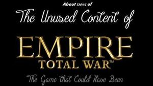 What Empire Total War could have been