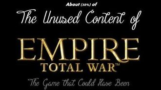 What Empire Total War could have been.