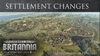 Total War Saga Thrones of Britannia - Settlement Changes