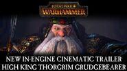 Total War WARHAMMER - In-Engine Cinematic Trailer High King Thorgrim Grudgebearer ESRB