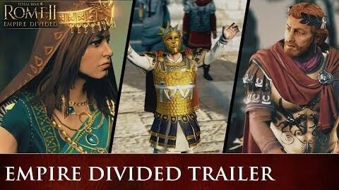 Total War ROME II - Empire Divided Trailer PEGI SPA
