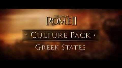 Total War Rome II 2 - Greek States Culture Pack трейлер