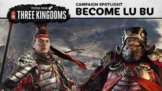 Total War THREE KINGDOMS - How to play as Lu Bu
