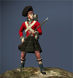 Highland Foot Peninsular Campaign
