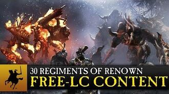 Total War WARHAMMER - 30 Regiments of Renown - CA 30th Anniversary