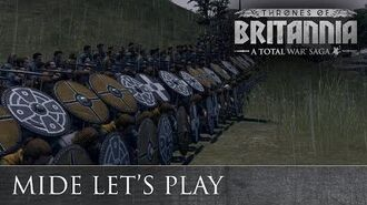Total War THRONES OF BRITANNIA - Gaelic Lets Play
