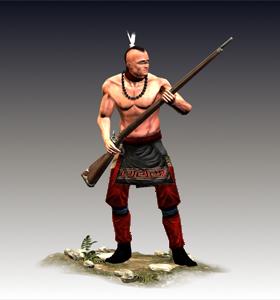 Native American Musketeers
