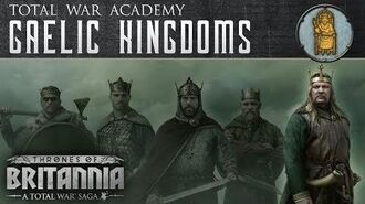A Total War Saga Thrones of Britannia - The Gaelic Kingdoms
