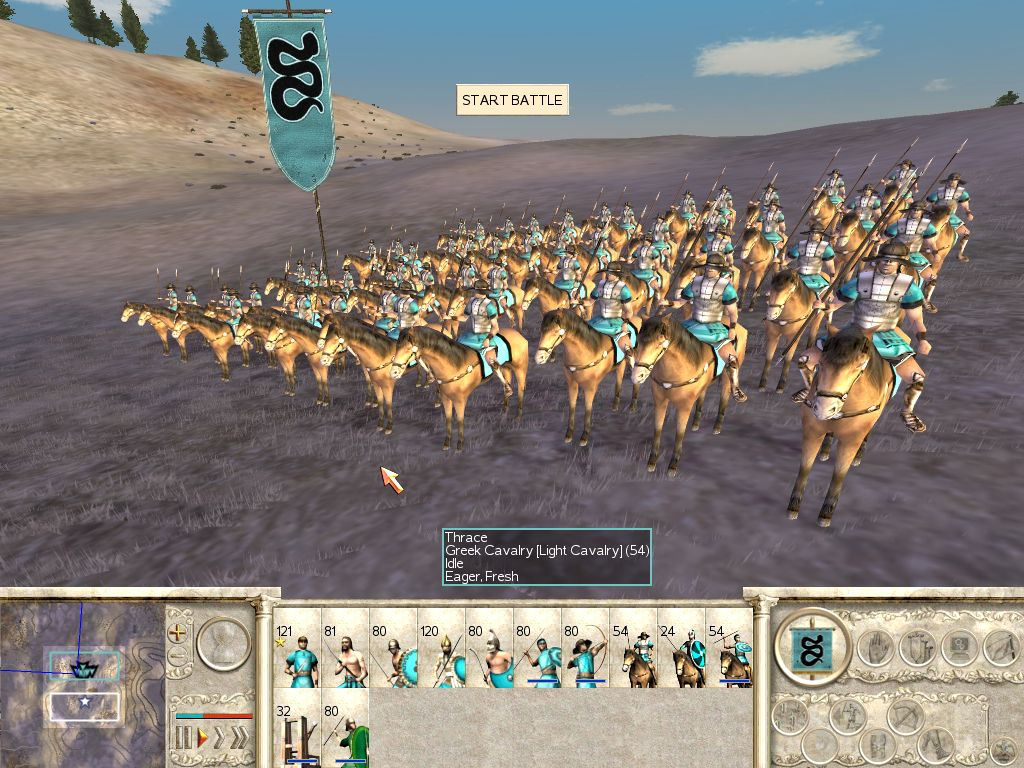 Greek Cavalry (Thrace)   Total War Wiki   FANDOM powered ...