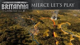 Total War Saga Thrones of Britannia - Mierce Let's Play