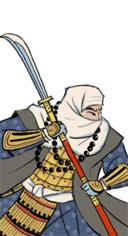 Naginata Warrior Monk Hero S2TW