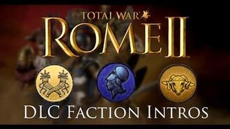 Total War Rome II - All Desert Kingdoms Black Sea Colonies Faction Intros