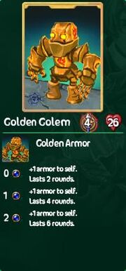Golden golem