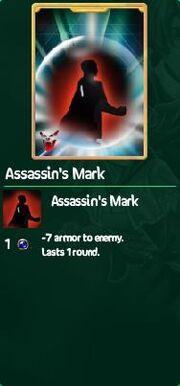 Assasin's mark