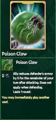 Poison Claw