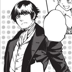 Hank's formal attire.