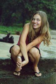 Alena happy