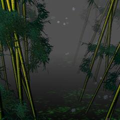 El Bosque de Bambú en el nivel 4 de <a href=