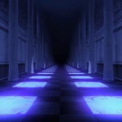 el palacio de noche en <a href=