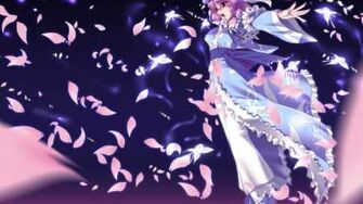 SWR - Yuyuko Saigyouji's Theme - Bloom nobly, cherry blossoms of Sumizome ~ Border of Life